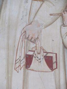 Chiesa di S. Maria in Piano (Loreto Aprutino, PE). Neat way to wrap a book.