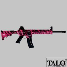 A pink AR 15!!!! I must have it!!!!