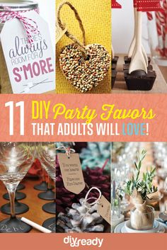 DIY Personalized Party Favor Craft Ideas
