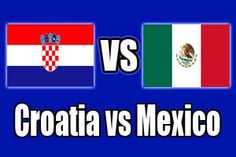 CROATIA  1 - 3  MEXICO (Full-Time) -2014 FIFA World Cup, Arena Pernambuco Recife (BRA)23 Jun 2014 - Group stage - Group A