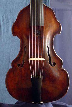 Germany - Treble viola da gamba, ca. 1730 - anonymous.