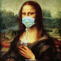Mona lisa cerveza Corona on We Heart It Surreal Art, Photoshop, Artwork, Funny Art, Art Parody, Collage Art, Art Wallpaper, Pop Art, Aesthetic Art