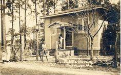 Fairhope, AL Public Library postcard circa 1909