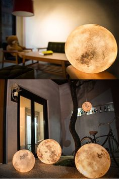 Taiwanese designers create LUNA, a magical lantern that brings the moon to your world