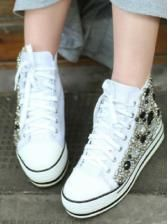 Fashion New arrival good matching jewel platform shoes $ 20.56