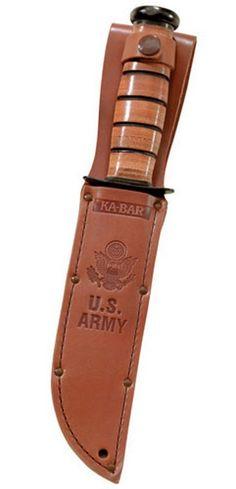 Ka-Bar US Army Fighting Knives 7 Inch Blade