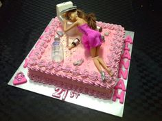 Drunk Barbie Cake by Mitchie's Cupcakes & Cakes.