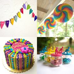 DIY party decor for a toddler's birthday
