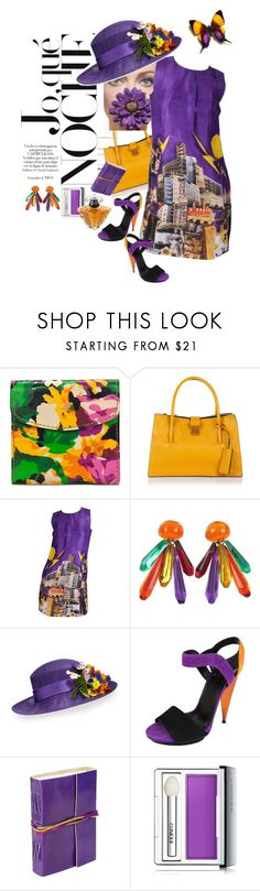 """Please Don't Eat The Daisies - Wear Them !"" by kindlefraud ❤ liked on Polyvore featuring Patricia Nash, Miu Miu, Philip Treacy, Gucci, Clinique and Lancôme"