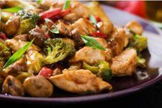 Восхитительное легкое блюдо к ужину: куриное филе с брокколи и грибами - Jemchyjinka.ru