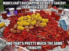 Hell yeah! Ready for the crawfish boil this weekend
