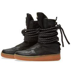 Nike SF Air Force 1 Hi W (Black, Gum & Light Brown)   END.