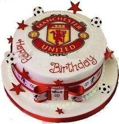 Man U cake