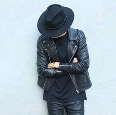 All Black hat