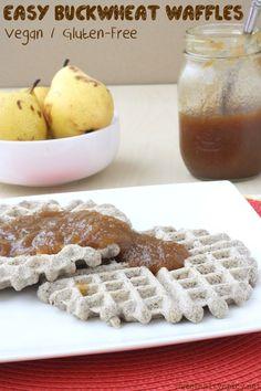 Easy Buckwheat Waffles (Vegan, Gluten-Free, Nut-Free, Soy-Free, Oil-Free & The Eczema Diet Friendly)