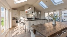Cheshire Furniture Company have designed and installed beautiful bespoke kitchens, bathrooms, bedrooms and furniture for other rooms for almost 25 years. Modern Country Kitchens, Grey Kitchens, Home Kitchens, Open Plan Kitchen Dining, New Kitchen, Kitchen Pantry, Kitchen Ideas, Kitchen Units, Kitchen Cabinets