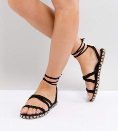 1de756b6781 ASOS JACI Wide Fit Plaited Espadrille Sandals  ASOS  Espadrille  sandals   Shoes