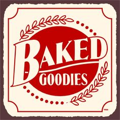 Baked Goodies Sign For My Kitchen Vintage Metal Signs, Custom Metal Signs,  Vintage Kitchen