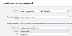 Autenticar páginas no Facebook | .com/teúdo
