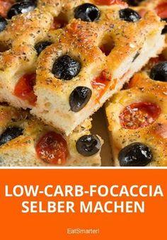 Low-Carb-Focaccia selber machen | http://eatsmarter.de
