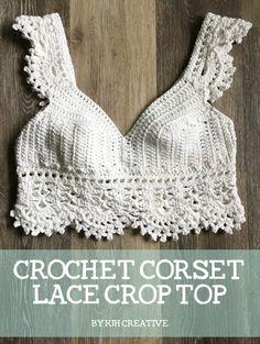 Crochet Halter Tops, Bikini Crochet, Crochet Summer Tops, Crochet Tank, Crochet Blouse, Diy Crochet Crop Top, Diy Crochet Bralette, Diy Crochet Top Pattern, Crochet Womens Tops