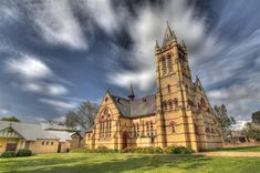 Church at Morpeth HDR. | by archie0