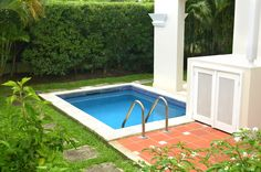 You can build your own simple plunge pool or hot tub with the information provided by... www.custombuiltspas.com