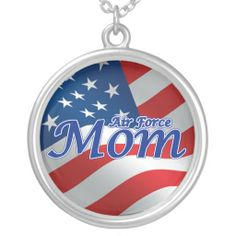 U.S. Air Force Mom Necklace