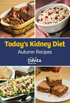 Kidney-Friendly Eating For the Whole Family - Kidney Diet Davita Recipes, Kidney Recipes, Dialysis Diet, Renal Diet, Low Potassium Recipes, Low Sodium Recipes, Low Salt Recipes, Cooking Recipes, Diet Recipes