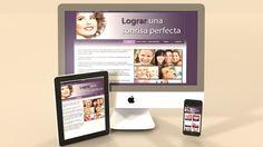 """Presentación de borrador para la web de """"Clínica Dental Barrio Peral""""."""