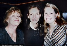 Family: Roberts with Motes and their mother Betty Lou when the star was filming 1997's My Best Friend's Wedding