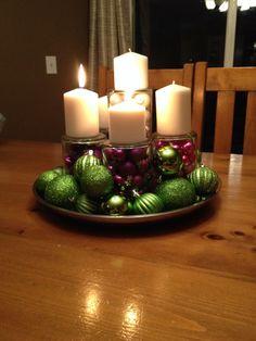 My modern take on an Advent Wreath