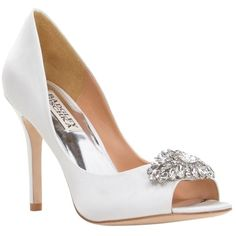 f9ce05b9e10 Lauren Lorraine Candy Embellished Peep-Toe Pumps ( 119) ❤ liked on ...