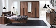 Set Mobila Dormitor Maximus #homedecor #interiordesign #inspiration #bedroomdecor bedroom #furniture Interiores Design, Master Bedroom, Entryway, Modern, Living, Ron, Inspiration, Bedroom Furniture, Beds