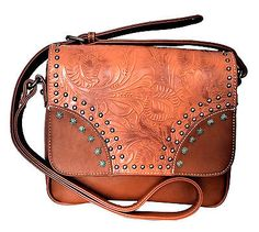 Montana West Floral Tooling Collection Western Cowgirl Crossbody Bag Pick Color