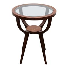 Jlindrich Halabala Style Side Table Table Furniture, Modern Furniture, Home Furniture, Postmodernism, Vintage Antiques, Restoration, Mid Century, Glass, Design