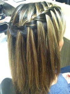 Waterfall-Braid-Hair-Styles