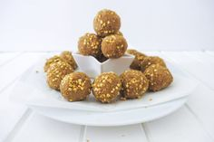 Salted caramel protein bliss balls