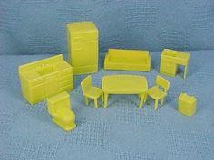 Vintage 1950s Doll House Furniture