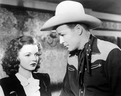 Roy Rogers and Dale Evans in Song of Nevada