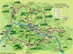 The trail of King Arthur