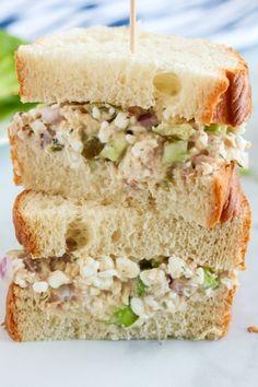 Cottage Cheese Tuna Salad - Family Fresh Meals Easy Tuna Recipes, Chicken Recipes, Healthy Recipes, Family Fresh Meals, Easy Family Dinners, My Favorite Food, Favorite Recipes, Holiday Recipes