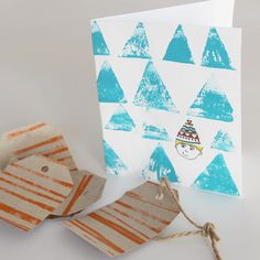 DIY Wrapping Paper, Cards, Wallpaper & More With Roller Pins