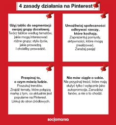 #Pinterest rules #Socjotips via @Socjomania