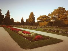 The garden of Chateau Lednice, CZ