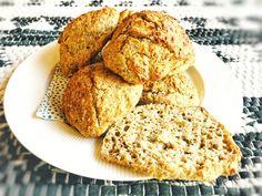 Grove koldhævede gaffelboller - nem hjemmebag med god samvittighed French Toast, Muffin, Bread, Dessert, Breakfast, Health, Food, Meal, Health Care