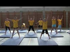 Schulturnen Teil 1 Lehrvideo Turn10 Gymnastik - YouTube Physical Education Lessons, Primary Education, Primary School, Physical Activities, Activities For Kids, School Sports, Kids Sports, Gym Games, Pe Ideas