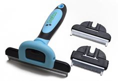 GreEco 3-in-1 Professional Deshedding Tool and Pet Grooming Brush, Including 3 Size brushes, For Small, Medium and Large Pets, Especially Excellent for Dogs   Cats With Short or Long Shedded Hair. Dramatically Reduces Shedding Hair By Up To 90% In Minutes. Promoting Healthier Skin and Shinnier Fur * Be sure to check out this awesome product.