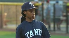 Female pitcher Mo'ne Davis led her team into the Little League World Series, throwing a three-hitter Sunday to lead Taney Youth Baseball Association Little League of Philadelphia to an 8-0 victory over a squad from Delaware.  http://espn.go.com/espnw/news-commentary/article/11337034/female-pitcher-mone-davis-lifts-team-little-league-world-series-3-hitter