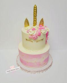 Unicorn 1St Birthday Cake  on Cake Central